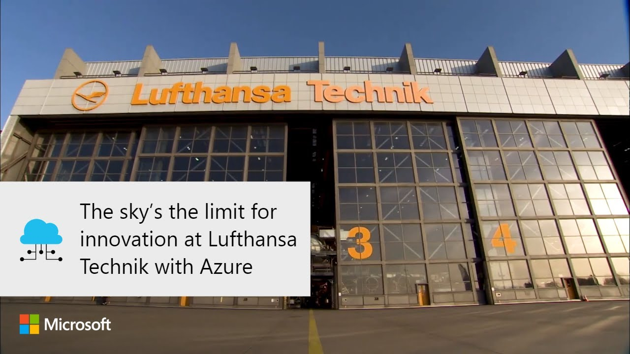 Lufthansa Technik with Azure