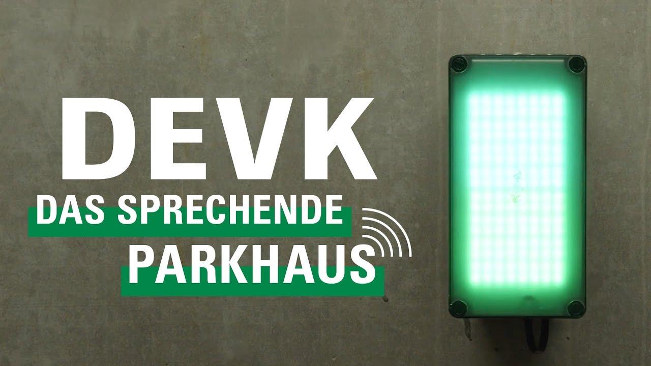 DEVK Spot: Das sprechende Parkhaus